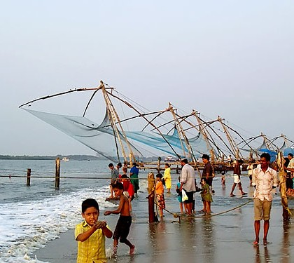 Fort Kochi Beach KeralaToursGlobal1