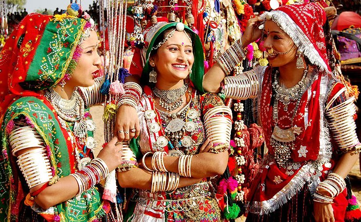Girls of Pushkar KeralaToursGlobal1