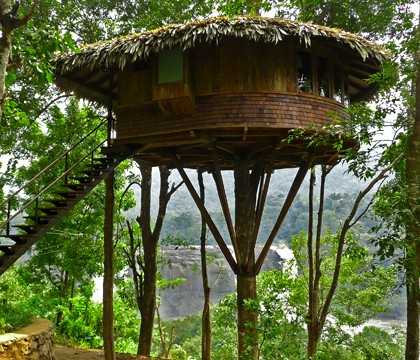 Tree House Athirappally KeralaToursGlobal