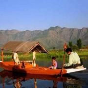 kashmiri Dal Lake boating