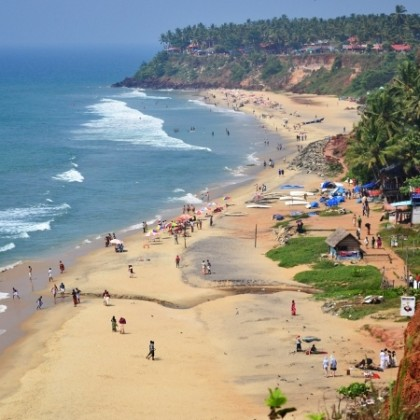 Varkala Beach2 KeralaToursGlobal
